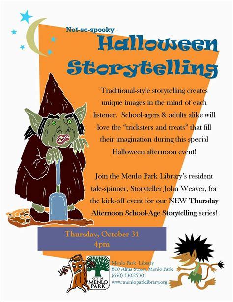 Storyteller John Weaver Halloween Storytelling