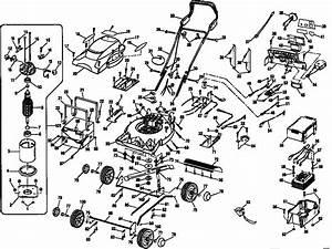 Sears Lawn Mower Parts Diagram