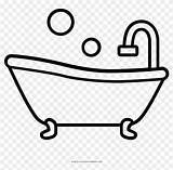 Bathtub Tub Coloring Outstanding Clipart Pikpng Complaint Copyright sketch template