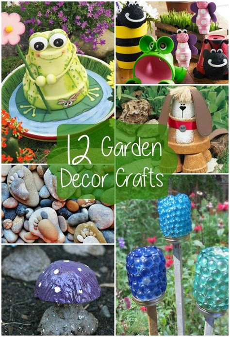 Outdoor Decorations Diy - best 25 diy garden decor ideas on diy yard