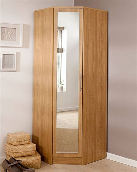 Corner Wardrobe by Helsinki Corner Wardrobe With Mirror Fashion World