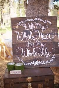 20 Wedding Signs We Love Intimate Weddings - Small