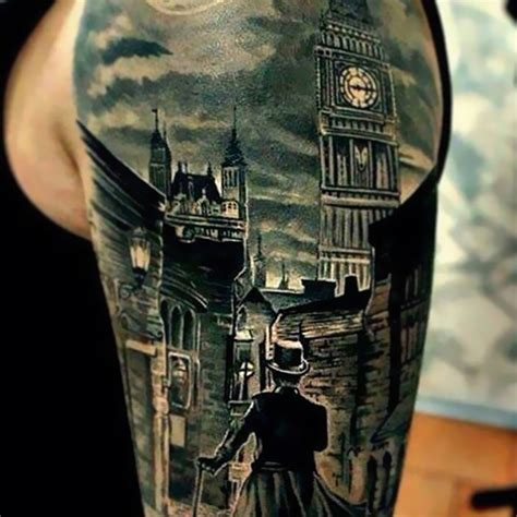 tattoo sherlock holmes tattoos inspired books ripper sleeve bookworms tatuagens boredpanda london mockingbird jack livros
