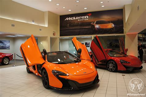 mclaren dealership mclaren boston lux expos 233