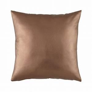 Maison Du Monde Coussin : coussin en tissu cuivr 50 x 50 cm copper maisons du monde ~ Teatrodelosmanantiales.com Idées de Décoration