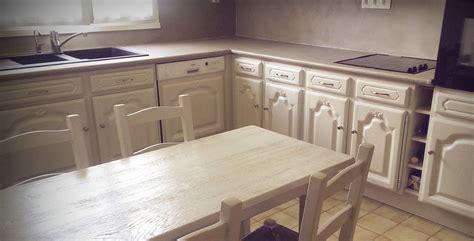 renovation meuble cuisine en chene kirafes