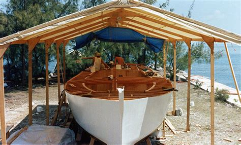 girl boat shed woodenboat magazine