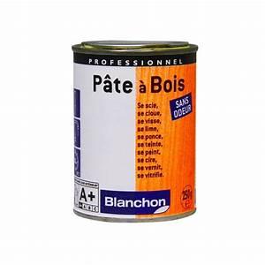 Pâte à Bois De Rebouchage : p te bois blanchon ~ Dailycaller-alerts.com Idées de Décoration