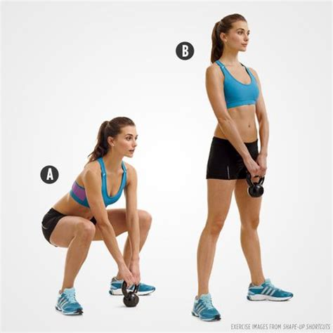 kettlebell deadlift sumo muscles runners workout critical move beth bischoff training exercist