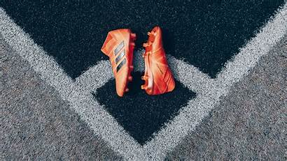 Football Boots Shoes 4k Lawn Background Uhd