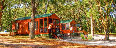 cabin rentals in florida lake in the forest black resort ocala fl rv park