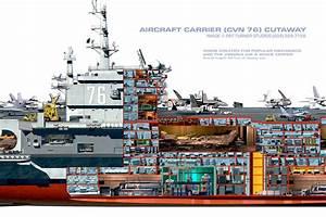 Artstation - Aircraft Carrier Uss Reagan