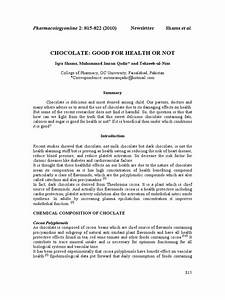 Chocolate Good For Health Or Not