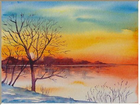sunrise paintings  premium templates