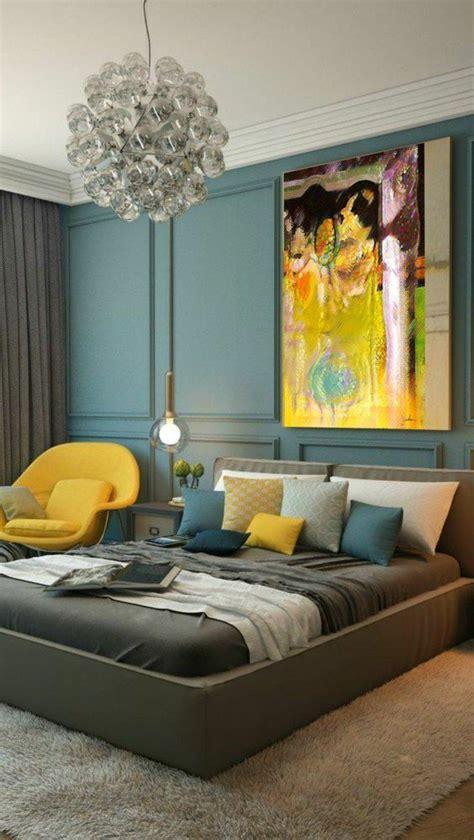 chambre bleu et jaune les 25 meilleures idées de la catégorie chambre moutarde