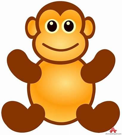 Monkey Clipart Clip Toy Animal Cartoon Monkeys