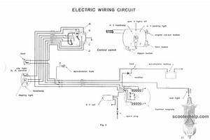 Electric Wiring Circuit 1953 Ld
