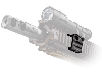surefire helmet light rail mount off set rail mount for surefire scout lights