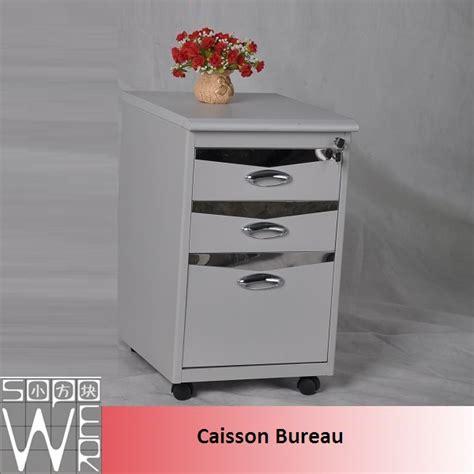 caisson bureau blanc laqué caisson bureau metal alinea blanc laqué discount autres