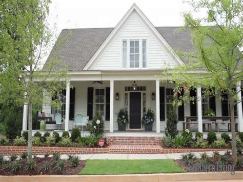 southern home designs eastover cottage from coastal living house plans
