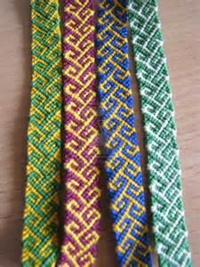 Friendship Bracelet Pattern