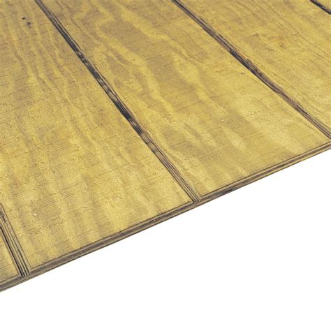 1132 In X 4 Ft X 8 Ft Rtd Southern Yellow Pine Plywood