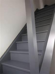 14 maison proche de caen le recit de la construction With awesome peindre des escaliers en bois 6 relooker et peindre un meuble en bois parquet escalier