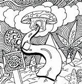 Mushroom Coloring Pages Adults Printable Getcolorings Getdrawings sketch template