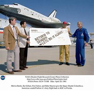 NASA Dryden Space Shuttle STS-1 Photo Collection