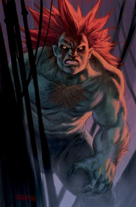 Blanka Street Fighter Tribute By Dogmeatsausage On Deviantart