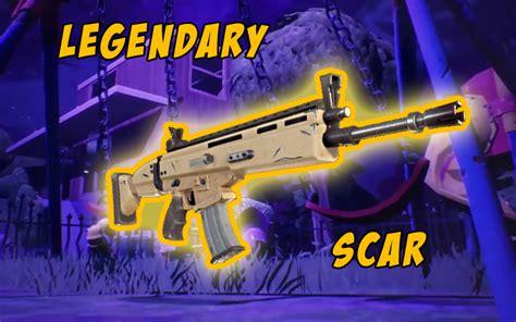 weapons    legendary scar  fortnite