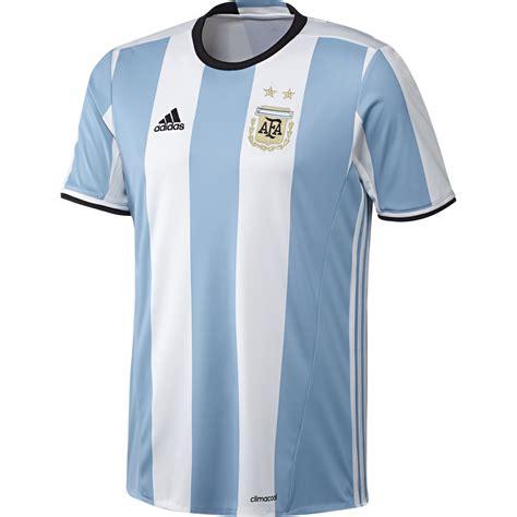 soccer jersey adidas argentina home 2016 replica soccer jersey light blue white black argentina soccer