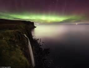 the northern lights are putting on a spectacular display