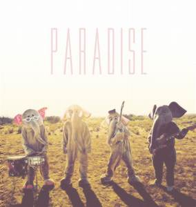 This Coldplay Paradise album cover is so wacky.   Funny ...