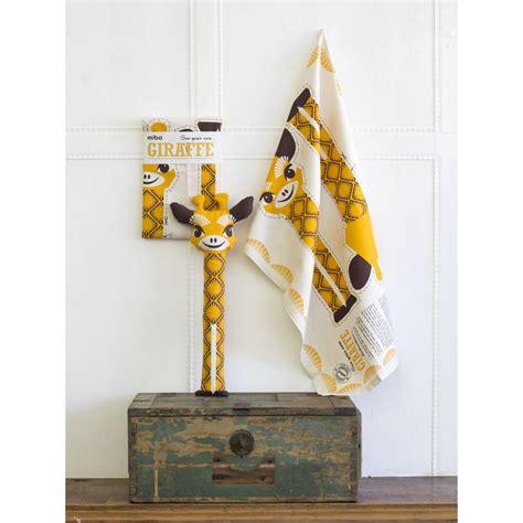 girafe cuisine doudou diy ou linge de cuisine en coton bio quot girafe