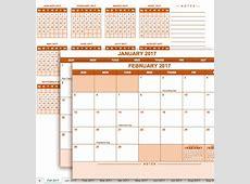 Szerezd be Excel naptár 2017 Azonnal használható Excel