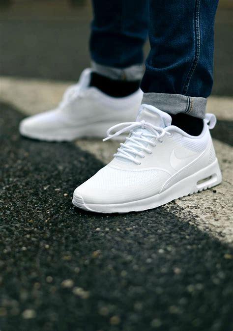 ultra clean nike air max thea all white soletopia