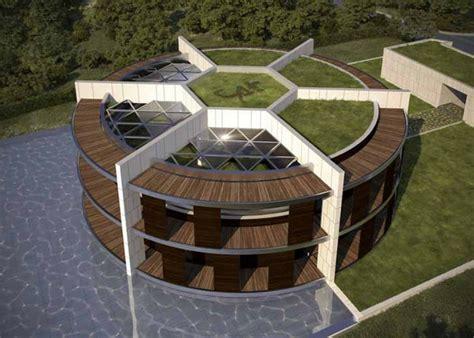 nachhaltiges oekohaus  form von fussball fuer lionel messi