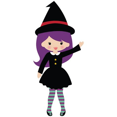 picture witch cute witch halloween clipart clipartxtras