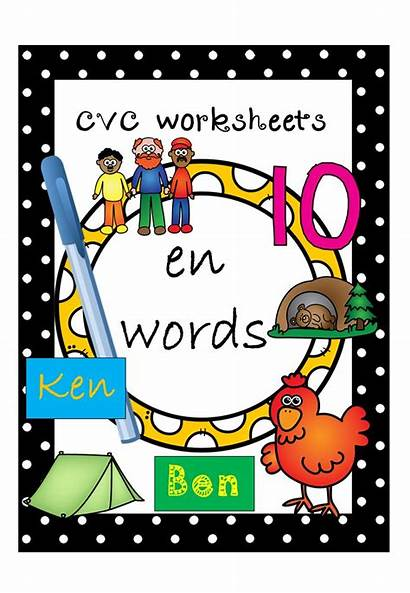 Words Cvc Worksheets Za English