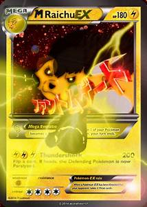 Mega Raichu card EX Fake by ZephiraWolf on DeviantArt