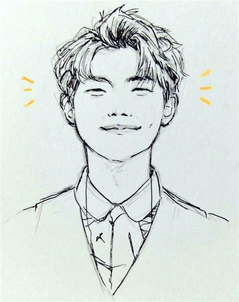 kimnamjoon namjoon rm bts   bts drawings kpop