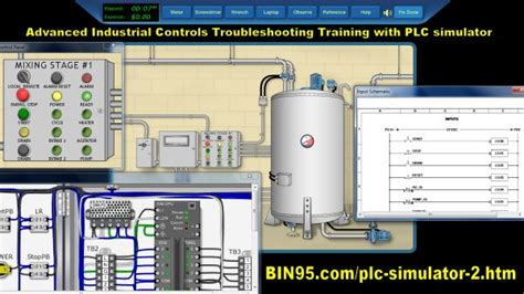 advanced industrial controls with plc simulator