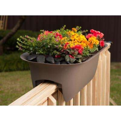 Banister Planters by Railing Planters Pots Planters The Home Depot