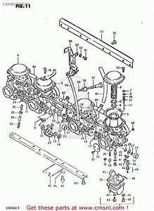 Suzuki Gs850 Gl 1980-1981  Usa  Carburetor