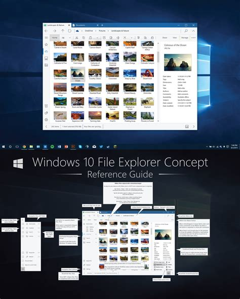v4 windows 10 explorer concept re imagined by dakirby309
