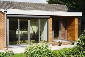 Maison Modulaire Bois : extension maison moderne modulaire bois ~ Melissatoandfro.com Idées de Décoration