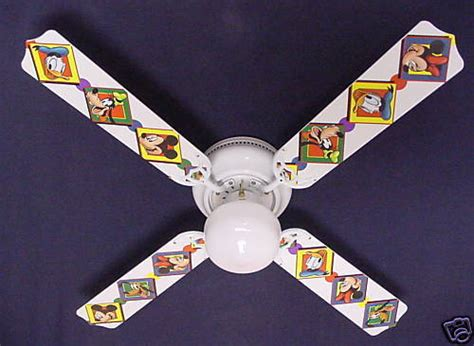 Mickey Mouse Ceiling Fan Blades by Mickey Mouse Ceiling Fan Lighting And Ceiling Fans