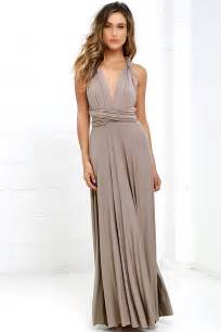 taupe bridesmaid dresses awesome taupe dress maxi dress wrap dress 78 00