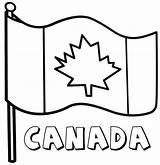 Flag Canadian Coloring Drawing Canada Flags Printable Clipart Cfl Getdrawings Colors Adult Colorings Duathlongijon sketch template